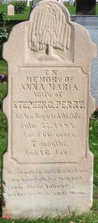 PERRY, ANNA MARIA - Utah County, Utah | ANNA MARIA PERRY - Utah Gravestone Photos
