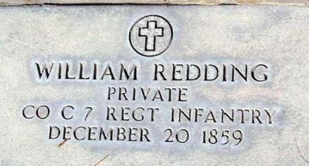 REDDING (SERV), WILLIAM - Utah County, Utah | WILLIAM REDDING (SERV) - Utah Gravestone Photos