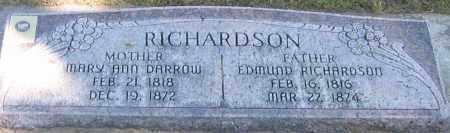 DARROW RICHARDSON, MARY ANN - Utah County, Utah | MARY ANN DARROW RICHARDSON - Utah Gravestone Photos