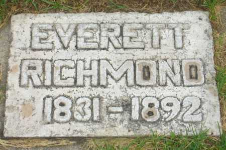 RICHMOND, EVERETT - Utah County, Utah | EVERETT RICHMOND - Utah Gravestone Photos