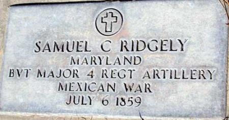 RIDGELY (MEX), SAMUEL C. - Utah County, Utah | SAMUEL C. RIDGELY (MEX) - Utah Gravestone Photos