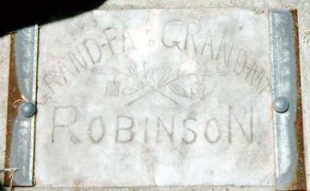 ROBINSON, GRANDMA - Utah County, Utah   GRANDMA ROBINSON - Utah Gravestone Photos