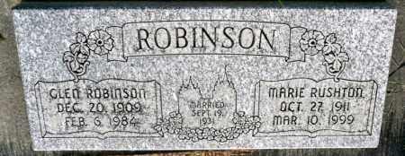 ROBINSON, MARIE - Utah County, Utah | MARIE ROBINSON - Utah Gravestone Photos