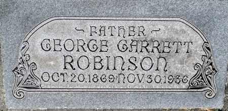 ROBINSON, GEORGE GARRETT - Utah County, Utah   GEORGE GARRETT ROBINSON - Utah Gravestone Photos