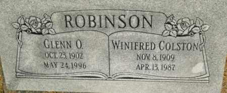 ROBINSON, GLENN O. - Utah County, Utah | GLENN O. ROBINSON - Utah Gravestone Photos