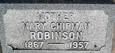 ROBINSON, MARY - Utah County, Utah   MARY ROBINSON - Utah Gravestone Photos