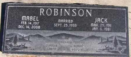 ROBINSON, MABEL - Utah County, Utah | MABEL ROBINSON - Utah Gravestone Photos