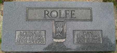 ROLFE, DAN - Utah County, Utah | DAN ROLFE - Utah Gravestone Photos