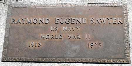 SAWYER (WWII), RAYMOND EUGENE - Utah County, Utah   RAYMOND EUGENE SAWYER (WWII) - Utah Gravestone Photos