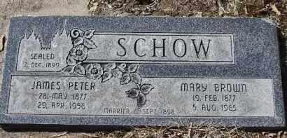 SCHOW, JAMES PETER - Utah County, Utah | JAMES PETER SCHOW - Utah Gravestone Photos