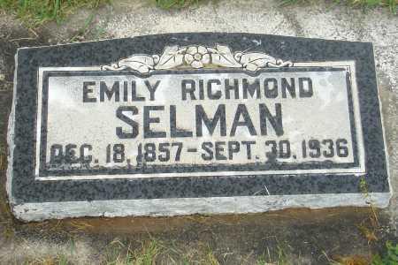 SELMAN, EMILY - Utah County, Utah | EMILY SELMAN - Utah Gravestone Photos