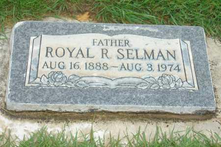 SELMAN, ROYAL RICHMOND - Utah County, Utah | ROYAL RICHMOND SELMAN - Utah Gravestone Photos