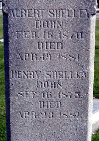 SHELLEY, ALBERT - Utah County, Utah   ALBERT SHELLEY - Utah Gravestone Photos