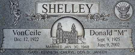 BRUCE SHELLEY, VONCEILE - Utah County, Utah | VONCEILE BRUCE SHELLEY - Utah Gravestone Photos