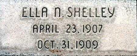 SHELLEY, ELLA NAOMI - Utah County, Utah   ELLA NAOMI SHELLEY - Utah Gravestone Photos