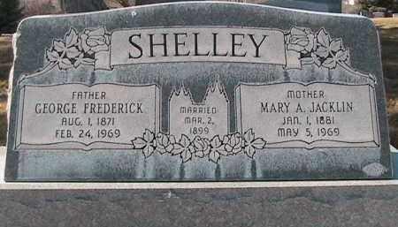 SHELLEY, GEORGE FREDERICK - Utah County, Utah | GEORGE FREDERICK SHELLEY - Utah Gravestone Photos