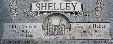 MOWER SHELLEY, ORBA NELLA - Utah County, Utah   ORBA NELLA MOWER SHELLEY - Utah Gravestone Photos