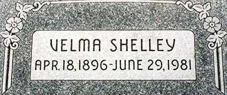 SHELLEY, HAZEL VELMA - Utah County, Utah   HAZEL VELMA SHELLEY - Utah Gravestone Photos