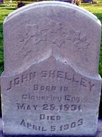 SHELLEY, JOHN - Utah County, Utah | JOHN SHELLEY - Utah Gravestone Photos
