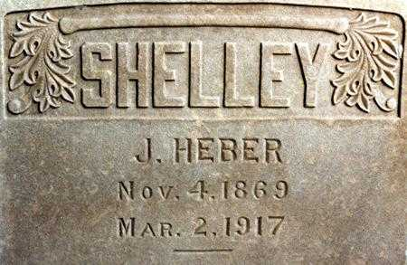 SHELLEY, JOHN HEBER - Utah County, Utah | JOHN HEBER SHELLEY - Utah Gravestone Photos