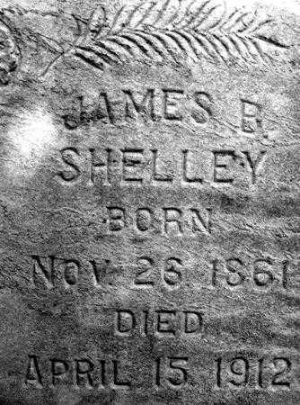 SHELLEY, JAMES BOYER - Utah County, Utah | JAMES BOYER SHELLEY - Utah Gravestone Photos