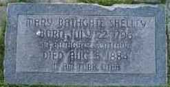 SHELLEY, MARY BATHGATE - Utah County, Utah | MARY BATHGATE SHELLEY - Utah Gravestone Photos