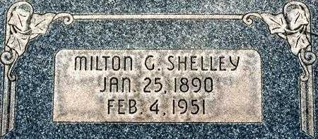 SHELLEY, MILTON GEORGE - Utah County, Utah | MILTON GEORGE SHELLEY - Utah Gravestone Photos