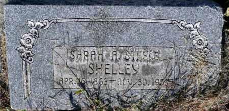 SHELLEY, SARAH A. - Utah County, Utah   SARAH A. SHELLEY - Utah Gravestone Photos