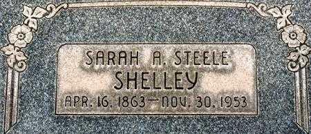SHELLEY, SARAH ANN - Utah County, Utah | SARAH ANN SHELLEY - Utah Gravestone Photos