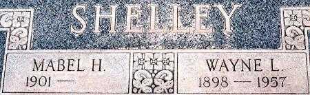 SHELLEY, MABEL SARAH - Utah County, Utah   MABEL SARAH SHELLEY - Utah Gravestone Photos