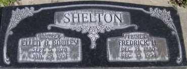 SHELTON, FREDRICK HENRY - Utah County, Utah | FREDRICK HENRY SHELTON - Utah Gravestone Photos