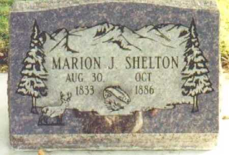 SHELTON, MARION JACKSON - Utah County, Utah | MARION JACKSON SHELTON - Utah Gravestone Photos