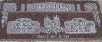 SHELTON, RITA SOPHIA - Utah County, Utah | RITA SOPHIA SHELTON - Utah Gravestone Photos