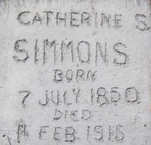 FOX SIMMONS, CATHERINE SOPHIA - Utah County, Utah | CATHERINE SOPHIA FOX SIMMONS - Utah Gravestone Photos
