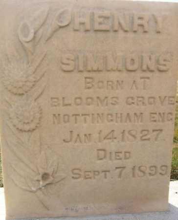 SIMMONS, HENRY - Utah County, Utah | HENRY SIMMONS - Utah Gravestone Photos