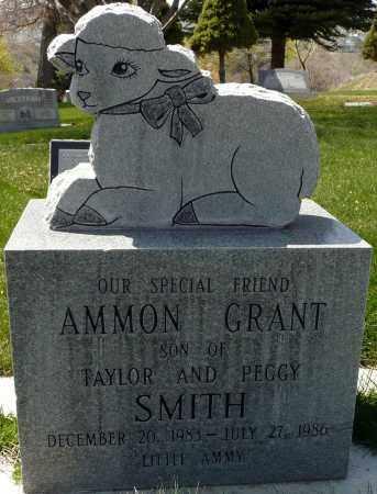 SMITH, AMMON GRANT - Utah County, Utah | AMMON GRANT SMITH - Utah Gravestone Photos