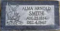 SMITH, ALMA ARNOLD - Utah County, Utah | ALMA ARNOLD SMITH - Utah Gravestone Photos