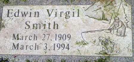 SMITH, EDWIN VIRGIL - Utah County, Utah | EDWIN VIRGIL SMITH - Utah Gravestone Photos