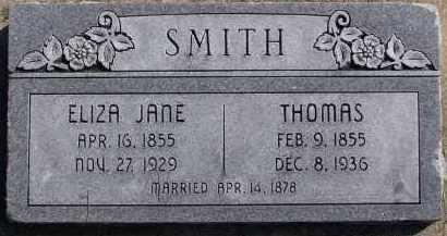 SMITH, THOMAS - Utah County, Utah   THOMAS SMITH - Utah Gravestone Photos