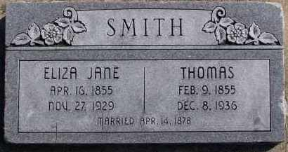 SMITH, THOMAS - Utah County, Utah | THOMAS SMITH - Utah Gravestone Photos
