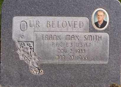 SMITH, FRANK MAX - Utah County, Utah   FRANK MAX SMITH - Utah Gravestone Photos