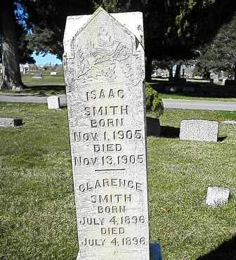 SMITH, ISAAC - Utah County, Utah | ISAAC SMITH - Utah Gravestone Photos