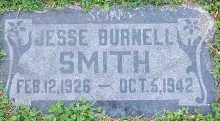 SMITH, JESSE BURNELL - Utah County, Utah | JESSE BURNELL SMITH - Utah Gravestone Photos