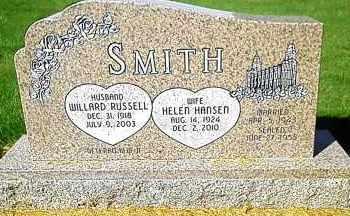 SMITH, WILLARD RUSSELL - Utah County, Utah | WILLARD RUSSELL SMITH - Utah Gravestone Photos