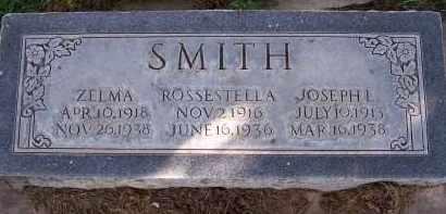SMITH, ROSSESTELLA - Utah County, Utah | ROSSESTELLA SMITH - Utah Gravestone Photos