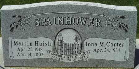 SPAINHOWER, MERRIN HUISH - Utah County, Utah | MERRIN HUISH SPAINHOWER - Utah Gravestone Photos