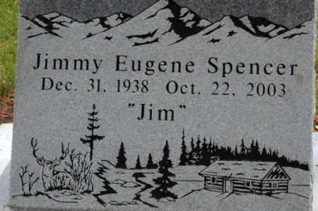 SPENCER, JIMMY EUGENE - Utah County, Utah   JIMMY EUGENE SPENCER - Utah Gravestone Photos