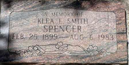 SPENCER, KLEA L. - Utah County, Utah   KLEA L. SPENCER - Utah Gravestone Photos