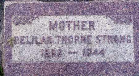STRONG, BELLAR - Utah County, Utah | BELLAR STRONG - Utah Gravestone Photos