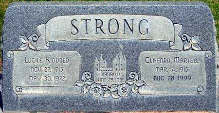 STRONG, CLIFFORD MARTELL - Utah County, Utah | CLIFFORD MARTELL STRONG - Utah Gravestone Photos